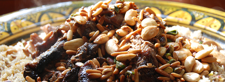 Lebanese Aromatic Lamb with Arabian Spices and Nuts