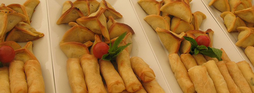 Fatayer and Cheese Parcels