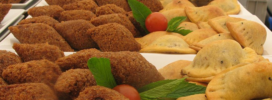 Lebanese Kibbeh and Chicken Parcels