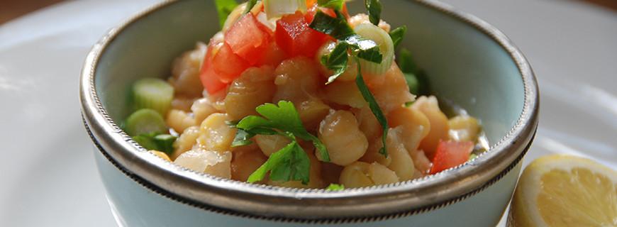 Lebanese Chickpea Salad