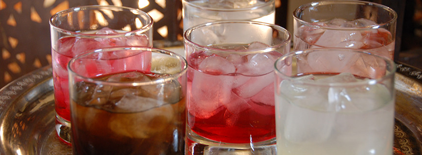 Lebanese Cordials - Pomegranate - Rose - Mulbery - Lemonade