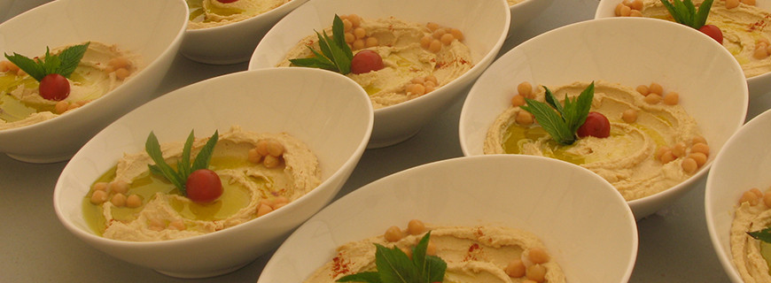 Lebanese Hummus - Chickpea and Tahini dip