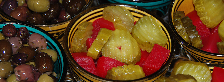 Lebanese Pickles and Olives