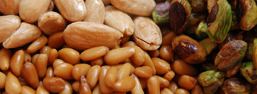 Lebanese Roasted Nuts - Pistachio - Pine Nuts - Almonds