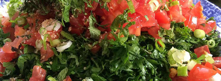 Lebanese Tabouleh Salad