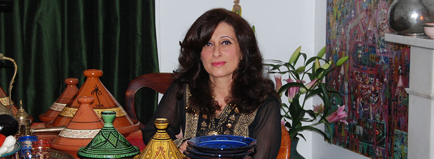 Mona Usher - Managing Director of Samara Cuisine Ltd