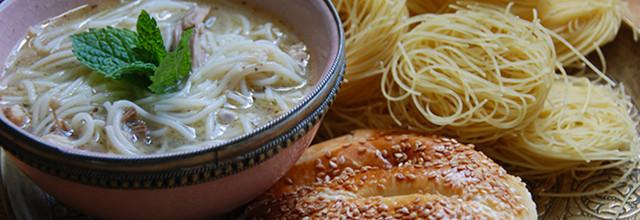 Lebanese Chicken Soup